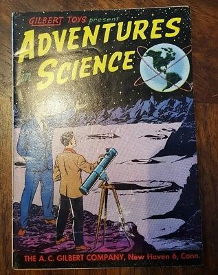 1958 Gilbert Toys Present Adventures In Science Comic Book