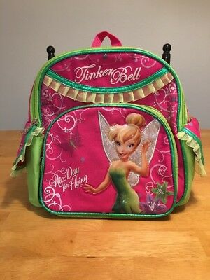 Authentic Disney Fairies Backpack Tinker Bell