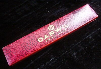 DARWIL Uhrenbox/ ETUI RED/ROT Condition Very good/Sehr gut