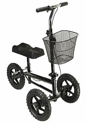 Azoob All Terrain Steerable Knee Walker Scooter Crutches Alternative Pro 1000