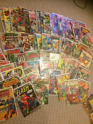 Lot of DC Marvel Gold Key SILVER and Bronze age.. FREE SHIPPING
