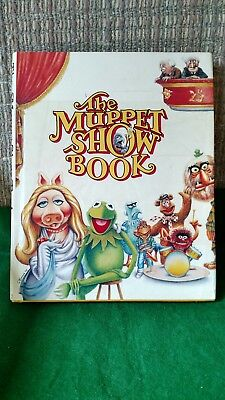 The Muppet Show Book Hard Cover Starring Jim Henson's Muppets