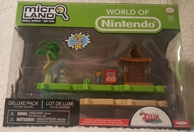 Nintendo The Legend of Zelda The Wind Waker  Deluxe MicroLand Pack Outset Island