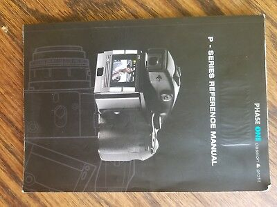 Phase One P Series Reference Manual