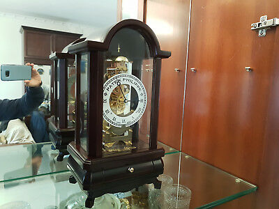 Patek Philippe Dealers Showroom Display Wood Clock