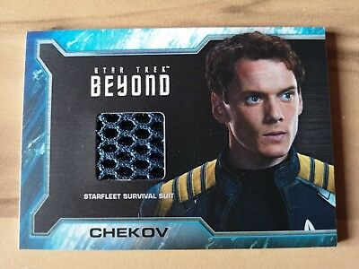 Star trek Beyond - Chekov Reward Card SR8a Rittenhouse 2017