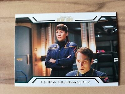 Woman Of Star Trek - Erika Hernandez Reward Card WC10 Rittenhouse 2017