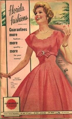 FLORIDA FASHIONS LATE 1950s SPRING-SUMMER CATALOG in Very Fine condition