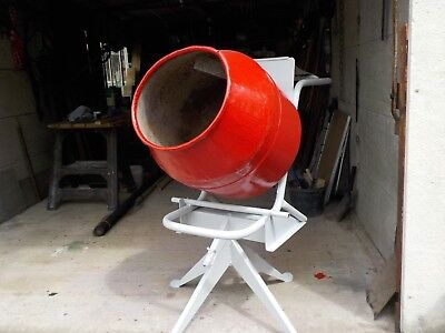 belle electric cement mixer in good working order