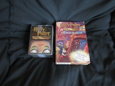 Harry Potter Trading Card Starter Set (NEW) and Lot of open card packs