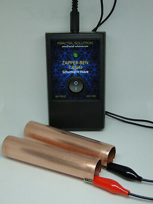 ORGONE 7.83Hz Shumann wave ZAPPER-REN with Hand Holds ZAPPER Hulda Clark