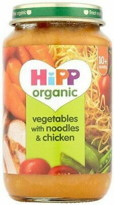 Hipp | Vegetables With Noodles & Chicken (10+) | 6 x 220g