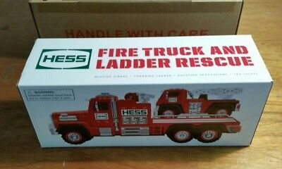 2015 Hess Fire Truck and Ladder Rescue - NIB