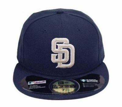 best service e0e24 b919d San Diego Padres 59FIFTY New Era Road Fitted Cap Hat Authentic New