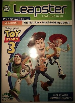 Leapster Learning Game - Toy Story 3   Leap Frog