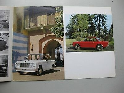 Lancia Fulvia Coupe Rallye Sport brochure Prospekt English text 1967 12 pages