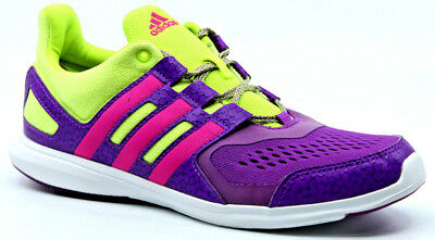 ADIDAS HYPERFAST 2.0 Shoes Shock Purpleshock PinkWhiteYellow Size 7 AQ3878