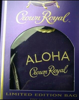 Crown Royal Limited Ed Aloha Bag Hawaii