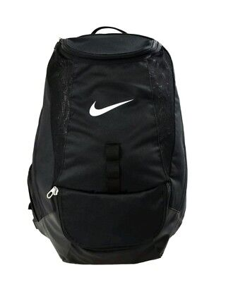 NIKE Black Club Team  Backpack Rucksack Bag School Gym Football bnip
