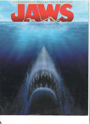 Jaws Anniversary Edition Marketing Advertising Retail Booklet Printed In Canada