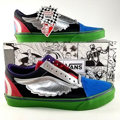 Vans X Marvel Old Skool Avengers Men s Size 10 Shoes Sneakers Limited  Edition 17c461c61