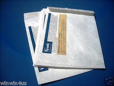 Custom Printed Tyvek Envelopes 3 Sizes to Choose from (Qty 1000) Your graphics
