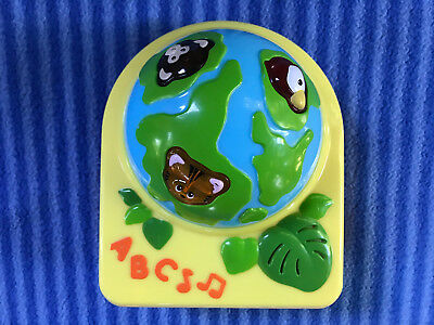 Evenflo Triple Fun Jungle Exersaucer Animal Planet Globe Toy Replacement Part