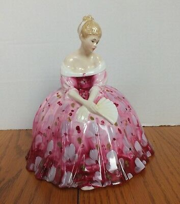 ROYAL DOULTON VICTORIA FIGURINE HN2471 as is