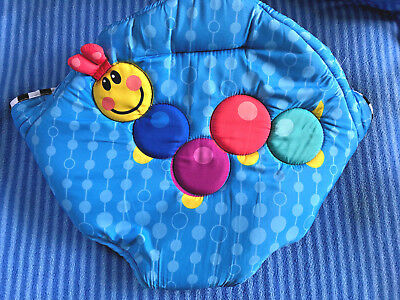 afde00072ee3 BABY EINSTEIN MUSICAL Motion Jumperoo Blue Seat Cover Replacement ...