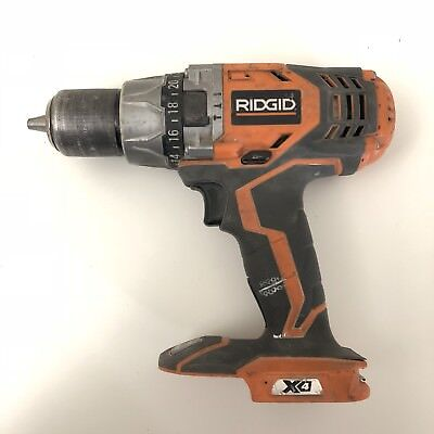 Ridgid R8611501 Cordless Hammer Drill (Bare Tool, No Accessories Included)