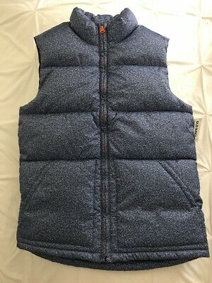 NWT Old Navy Boys Blue Puffer Vest Size XL / TG (14-16) FREE SHIPPING