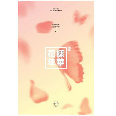BTS Mini Album Vol. 4 The Most Beautiful Moment in Life Pt. 2 (Peach Version)