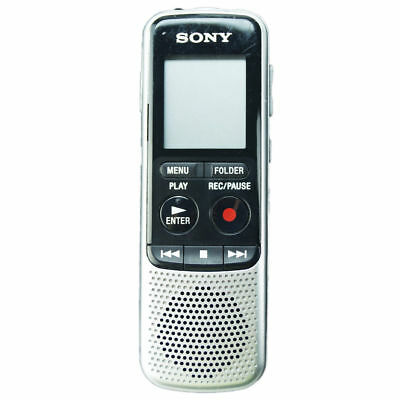 Sony ICD-BX140 Digital Voice Recorder Built-in 4GB Memory Silver