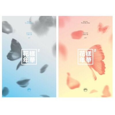BTS Mini Album Vol. 4 The Most Beautiful Moment in Life Pt. 2 Set (Blue+Peach)