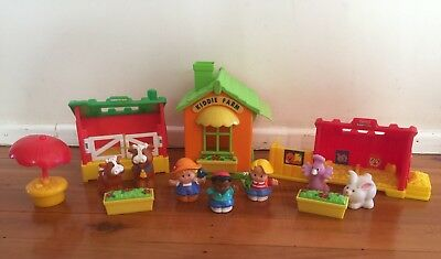 Fisher Price Little People Farm Animals Play Set