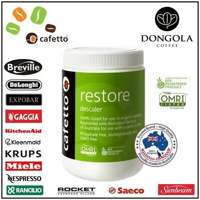 BREVILLE DESCALER 1KG Espresso Coffee Machine Equipment Cleaner CAFETTO RESTORE
