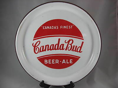 Canada BUD - Beer - Ale - Porcelain Beer Tray - 1930's - Toronto, Canada - NICE!