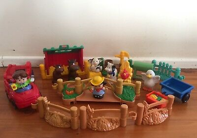 Fisher Price Little People Animals Farm Play Set