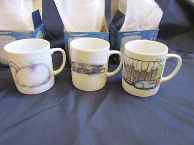 1983 Searle's Cats Mugs Colonial of Cape Cod