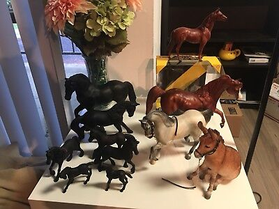 Lot of Breyer Horses Traditional Schleich Papo