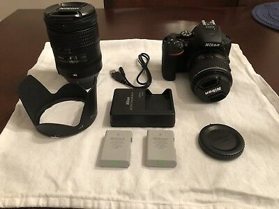 Nikon D5500 24.2MP Digital SLR With 28-300mm Zoom Lens