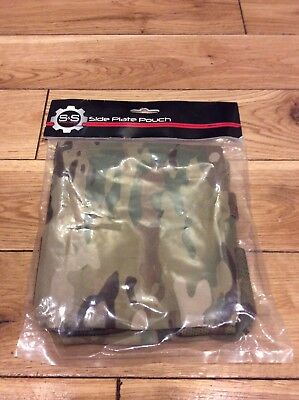 Old Gen S&s Precision Side Plate Pouches Multicam