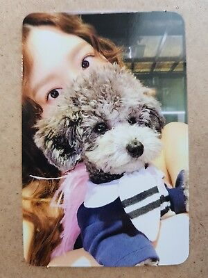 TAEYEON Authentic Official PHOTOCARD #1 [SOMETHING NEW] 3rd Album SNSD 태연