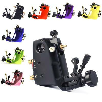 Top Aluminium Alloy Rotary Tattoo Machine Guns Stigma Hyper Liner-Schwarz·w/