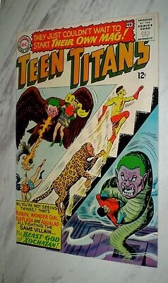 Teen Titans #1 NM 9.4 OW/W pages Unrestored 1966 DC Silver age