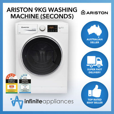 Ariston Natis 9kg Front Load Clothes Washer Washing Machine RPG (Factory Second)