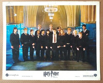 Harry Potter And The Order Of The Phoenix 2007 Us Movie Lobby Card 8X10 Inch