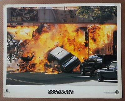Collateral Damage 2002 Original Us Movie Lobby Card 8X10 Inch