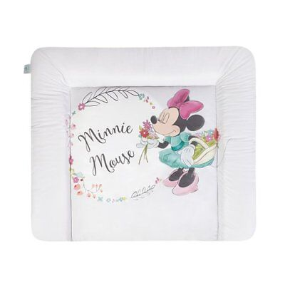 ZÖLLNER Wickelauflage Softy Minnie Flowers 75x85 cm Wickeltischauflage NEU
