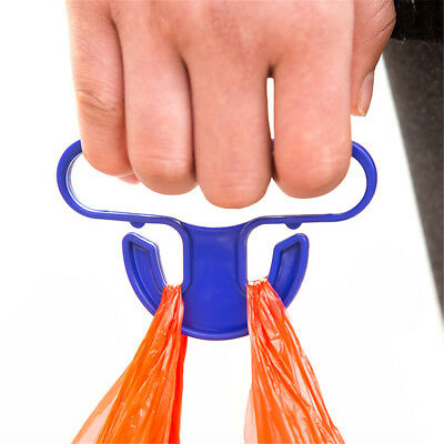 Shopping Handle Helper Tool Food Carrying Bag Handle Plastic Hanging Ring Grip
